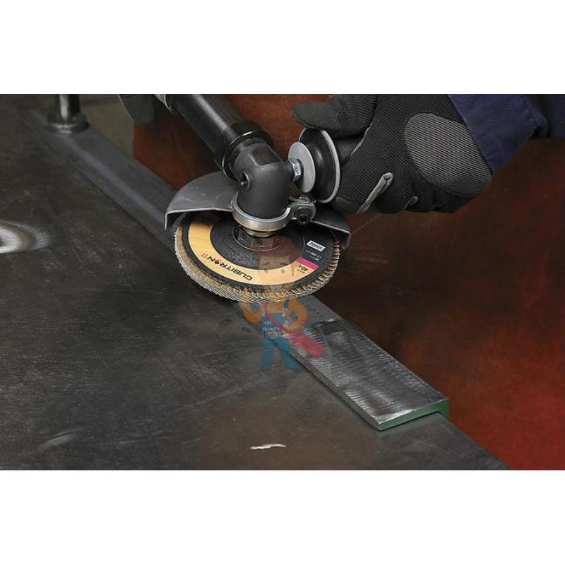 Круг лепестковый торцевой шлифовальный конический  967A, 125 мм х 22 мм, 60+ - фото 4
