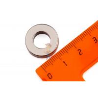 Высечка самоклеющаяся D13 мм - Неодимовый магнит кольцо 17.6х9х5 мм, N35M