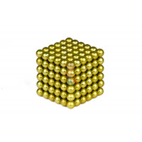 Forceberg Cube - куб из магнитных шариков 6 мм, синий, 216 элементов - Forceberg Cube - куб из магнитных шариков 5 мм, оливковый, 216 элементов