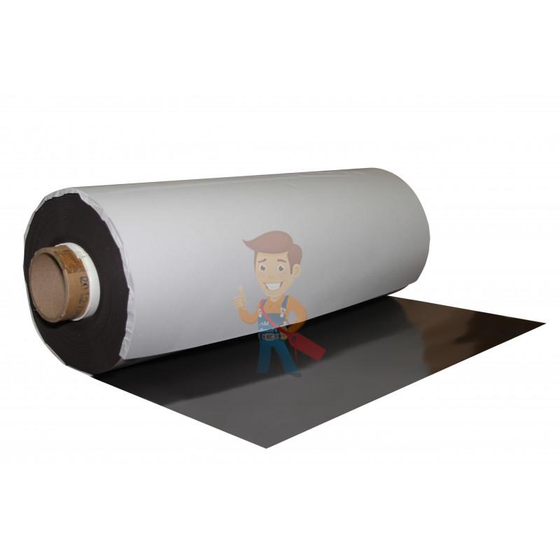 Магнитный винил с клеевым слоем, рулон 0.62х30 м, толщина 0.9 мм