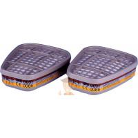 Адаптер для фильтров 5911, 5925, 5935, 2 шт/уп - Комбинированный фильтр от газов и паров 3M™ 6057, ABE1, 1 пара
