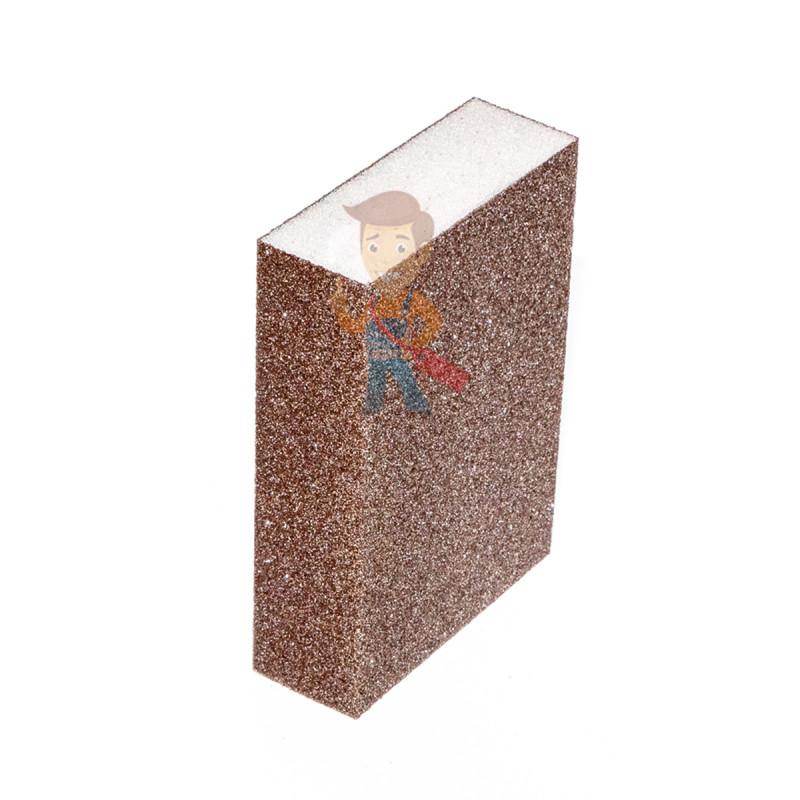 Губка Четырехсторонняя, FIN, жесткая, 96 мм х 66 мм х 25 мм, 5 шт./уп. - фото 2