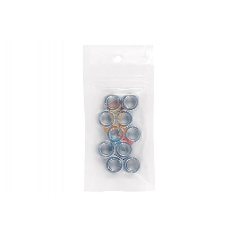 Гайка М10 шестигранная оцинкованная ГОСТ 5915-70 (DIN 934) Forceberg Home&DIY, 10 шт - фото 6