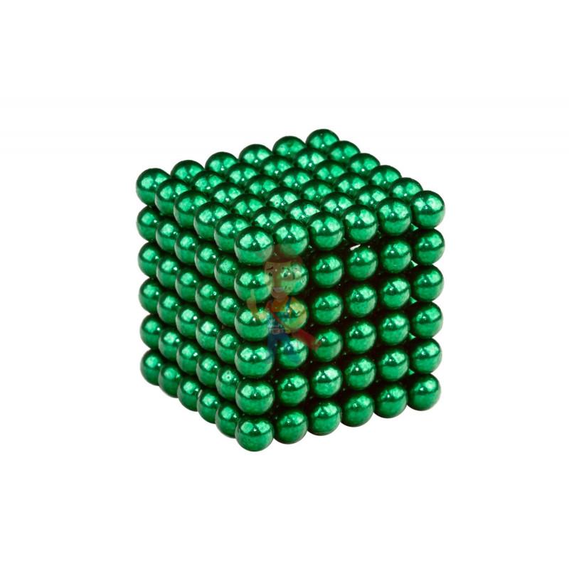 Forceberg Cube - куб из магнитных шариков 6 мм, зеленый, 216 элементов