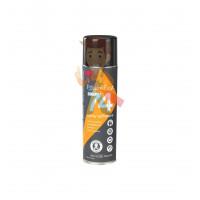 Клей эпоксидный двухкомпонентный, прозрачный, 48,5 мл 3M Scotch-Weld DP100 - Клей-спрей аэрозольный 3M™ 74 для вспененных материалов, оранжевый, 500 мл