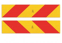 Комплект масок задних опознавательных знаков БГ 81.3731, 565MMX132MM (2 шт. - левая и правая)
