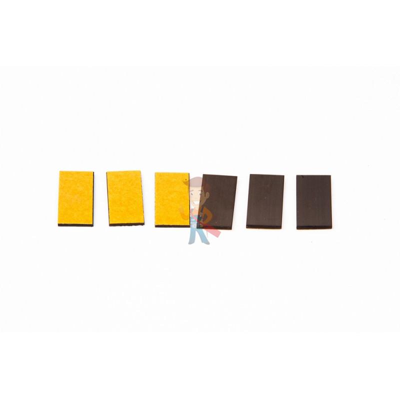 Магнитные виниловые наклейки Forceberg 1.3х2.5 см, 50 шт - фото 1