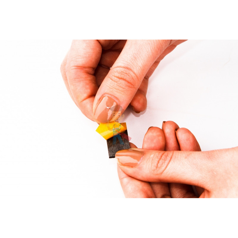 Магнитные виниловые наклейки Forceberg 1.3х2.5 см, 50 шт - фото 2