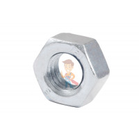 Магнит для магнитной доски FORCEBERG 20 мм, зеленый, 10шт. - Гайка М6 шестигранная оцинкованная ГОСТ 5915-70 (DIN 934) Forceberg Home&DIY, 30 шт