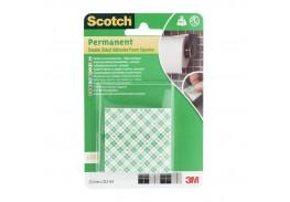 Квадраты монтажные двусторонние клейкие Scotch®, 16 шт./упаковка
