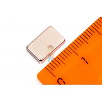 Высечка самоклеющаяся D13 мм - Неодимовый магнит прямоугольник 11х7х3 мм, N33SH