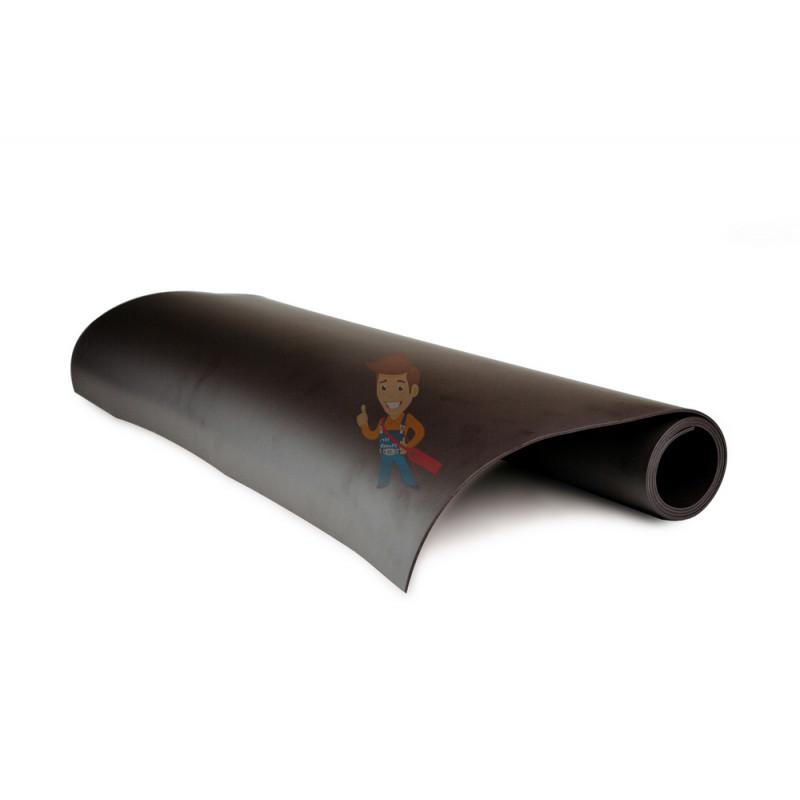 Магнитный винил без клеевого слоя 0.62 x 1 м, толщина 2.0 мм - фото 1