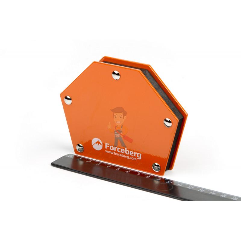 Магнитный угольник для сварки для 6 углов Forceberg, усилие до 23 кг - фото 1