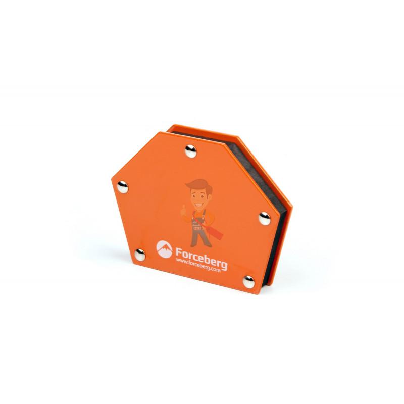 Магнитный угольник для сварки для 6 углов Forceberg, усилие до 23 кг