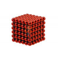 Forceberg Cube - куб из магнитных шариков 5 мм, цветной, 216 элементов - Forceberg Cube - куб из магнитных шариков 6 мм, красный, 216 элементов