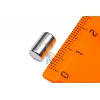 Магнитная застежка 15х2 мм с ПВХ - Неодимовый магнит пруток 5х10 мм