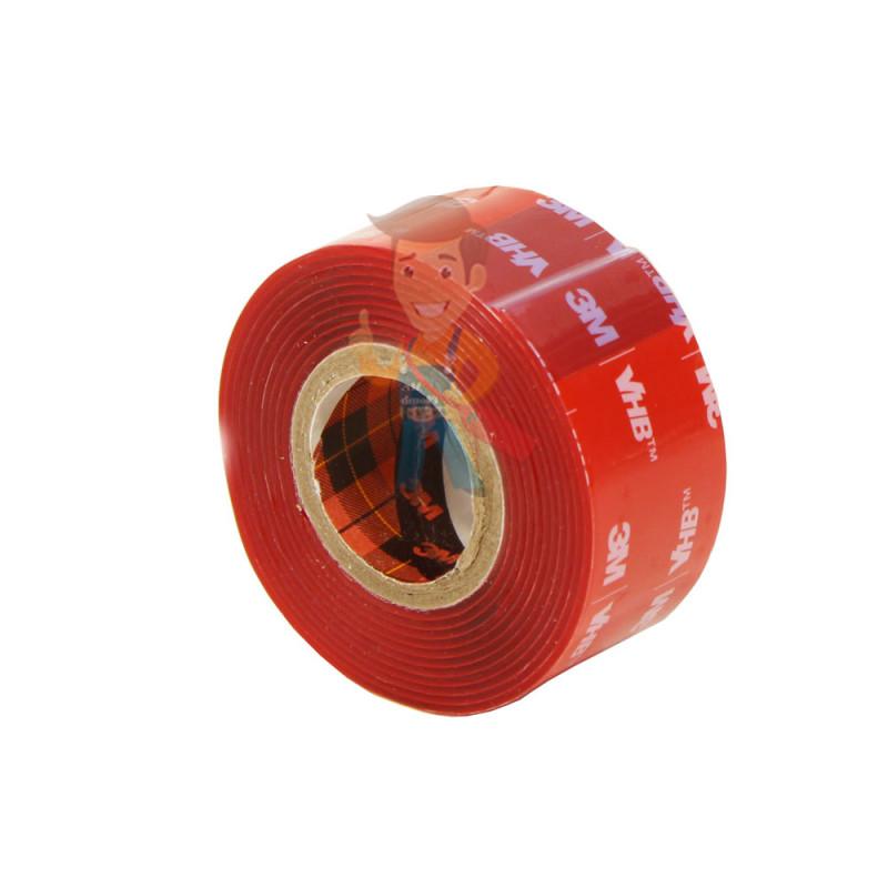 Клейкая лента универсальная 3М VHB 4910F, двусторонняя, прозрачная, 25ММ x 1М - фото 1