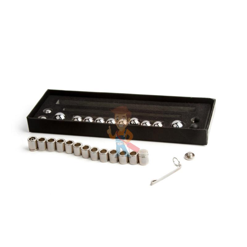 Магнитная ручка Forceberg, серебряная - фото 2
