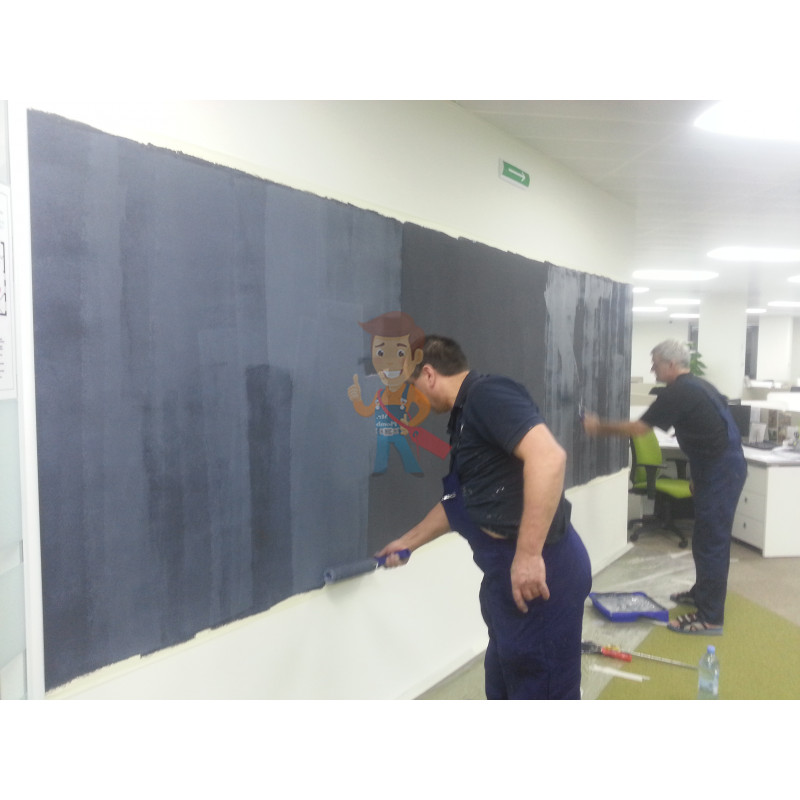 Грифельная краска Siberia 1 литр, на 5 м² - фото 7