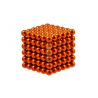 Forceberg Cube - куб из магнитных шариков 6 мм, оранжевый, 216 элементов - Forceberg Cube - куб из магнитных шариков 5 мм, оранжевый, 216 элементов