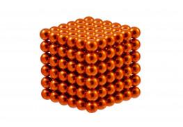 Forceberg Cube - куб из магнитных шариков 5 мм, оранжевый, 216 элементов