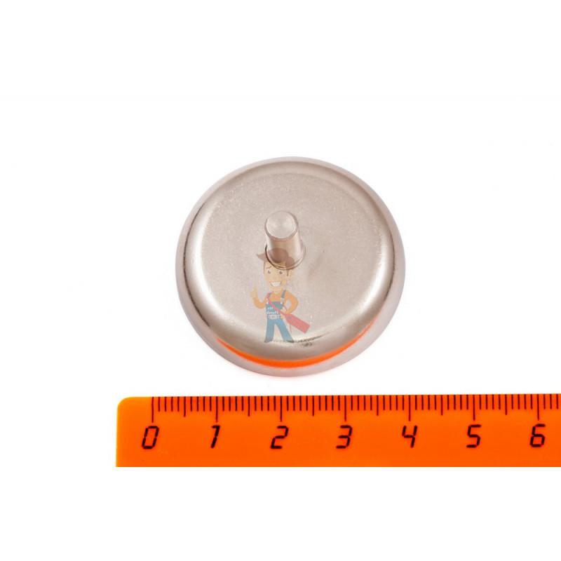 Магнитное крепление D36 со стержнем - подставка на магните для топпера, ценников, рамок, плакатов - фото 2