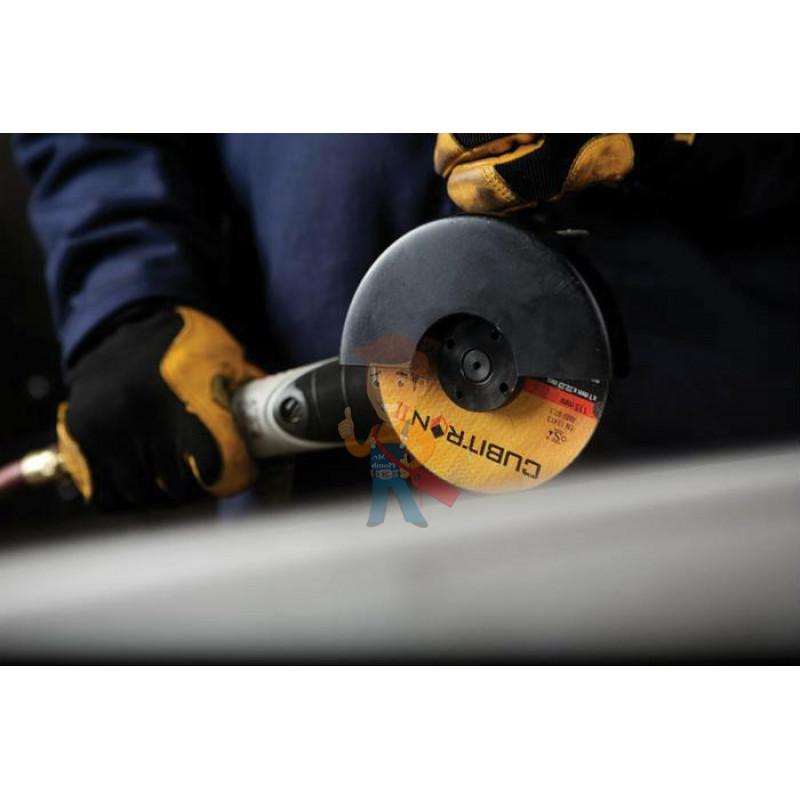 Круг для отрезки и зачистки Т27 Cubitron™ II, 125 мм х 4,2 мм х 22,23 мм, A 36 S BF, 81149 - фото 5