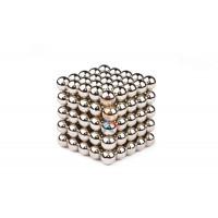 Forceberg Cube - куб из магнитных шариков 5 мм, светящийся в темноте, 216 элементов - Forceberg Cube - Куб из магнитных шариков 10 мм, стальной, 125 элементов