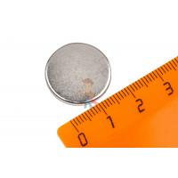 Магнитное крепление с отверстием В16 - Неодимовый магнит диск 20х2 мм