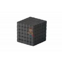 Forceberg Cube - куб из магнитных шариков 6 мм, жемчужный, 216 элементов - Forceberg TetraCube - куб из магнитных кубиков 5 мм, черный, 216 элементов