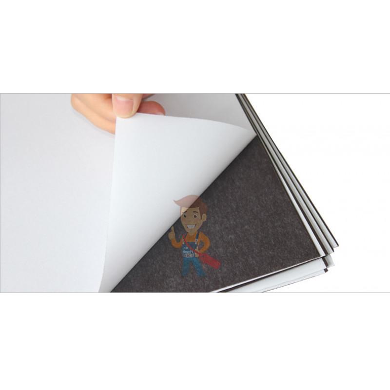 Магнитный винил с клеевым слоем, лист 0.62х5 м, толщина 0.9 мм - фото 2