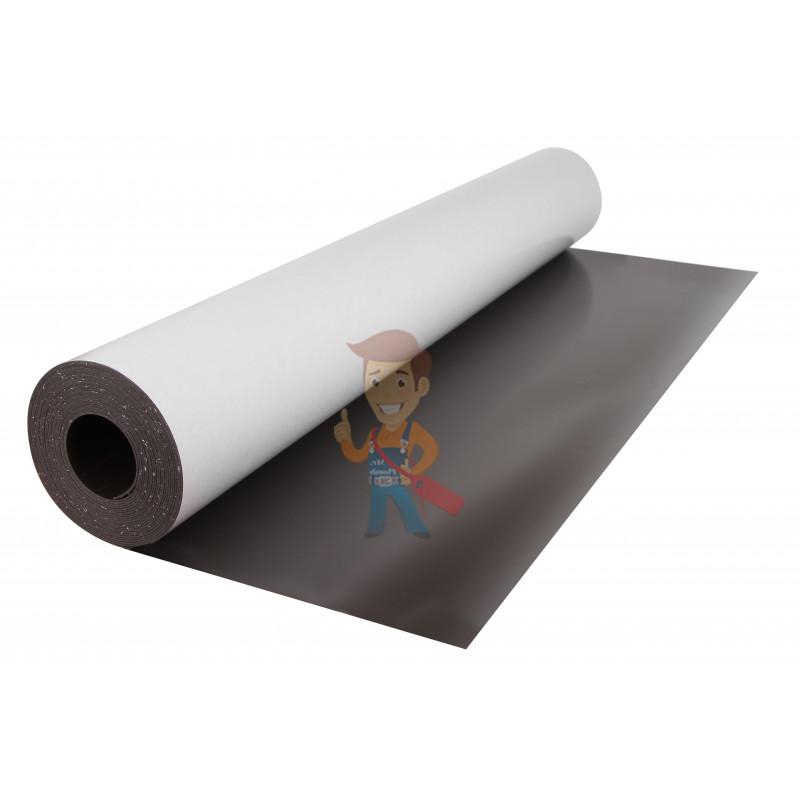 Магнитный винил с клеевым слоем, лист 0.62х5 м, толщина 0.9 мм