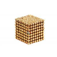 Forceberg Cube - куб из магнитных шариков 6 мм, цветной, 216 элементов - Forceberg Cube - куб из магнитных шариков 2,5 мм, золотой, 512 элементов