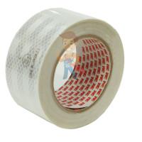 Лента светоотражающая 3M 983-72, алмазного типа, красная, 53,5 мм х 5 м - Лента светоотражающая 3M 983-10, алмазного типа, белая, 53,5 мм х 10 м