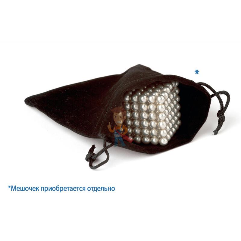 Forceberg Cube - куб из магнитных шариков 7 мм, черный, 216 элементов - фото 4