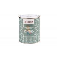 Магнитная краска Siberia 1 литр, на 2 м² - Универсальный белый грунт Siberia Primer 1 литр, на 8,5 м²