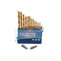 Магнитная насадка под шестигранную головку H10 для ударного шуруповерта, 65 мм - Сверла с титановым покрытием для металла, дерева, пластика, 13 шт