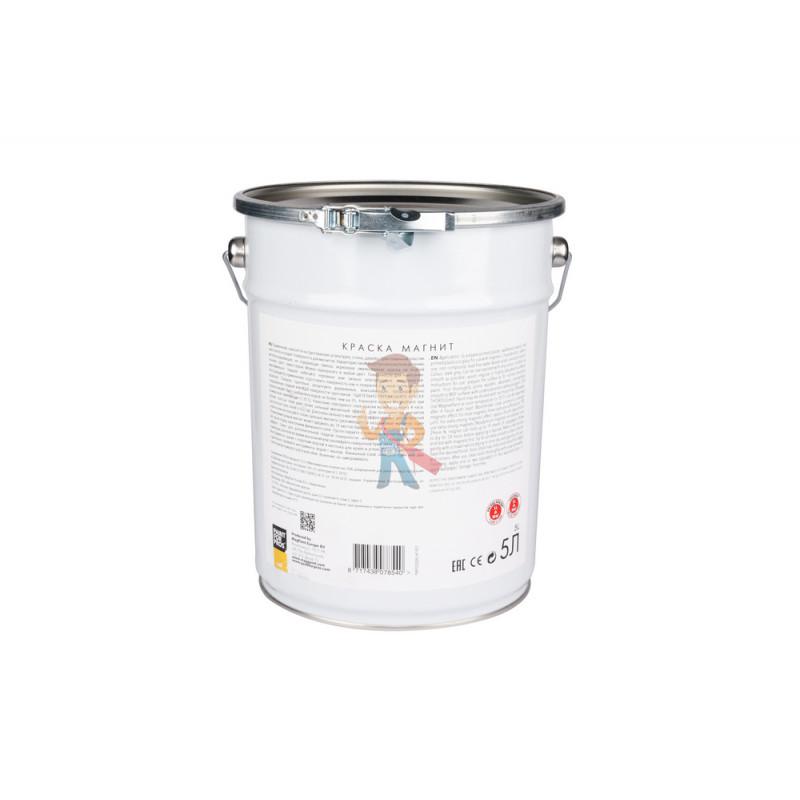 Магнитная краска MagPaint 5 литров, на 10 м² - фото 2