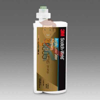 Клей эпоксидный двухкомпонентный DP760, белый, 50 мл - Клей акриловый двухкомпонентный, без резкого запаха, зелёный, 45 мл