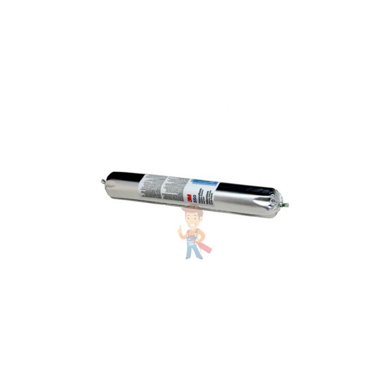 Клей-герметик полиуретановый 3М 550FC, однокомпонентный, белый, 600 мл