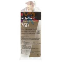 Клей эпоксидный двухкомпонентный, прозрачный, 48,5 мл 3M Scotch-Weld DP100 - Клей эпоксидный двухкомпонентный DP760, белый, 50 мл