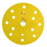 Круг абразивный 255P+, золотой, 15 отв, Р120, 150 мм, 3M™ Hookit™ - Круг абразивный 255P+, золотой, 15 отв, Р500, 150 мм, 3M™ Hookit™