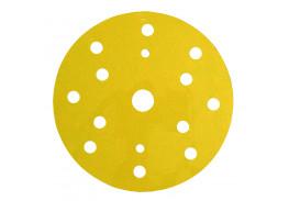 Круг абразивный 255P+, золотой, 15 отв, Р500, 150 мм, 3M™ Hookit™