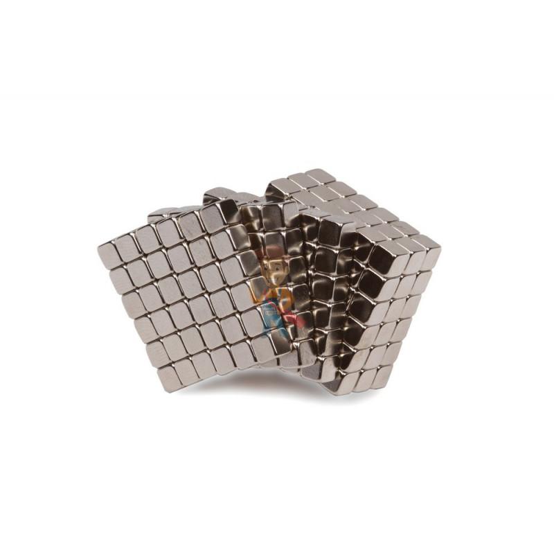 Forceberg TetraCube - куб из магнитных кубиков 7 мм, стальной, 216 элементов - фото 1