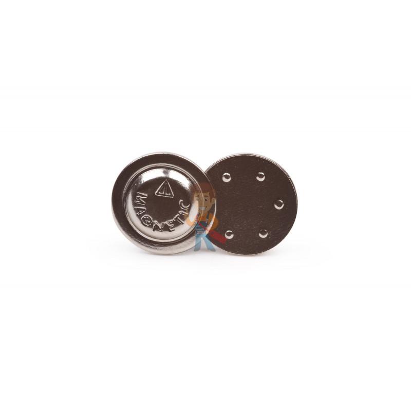 Магнитное крепление для бейджей D17 (металл)