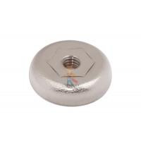 Магнитное крепление с винтом С16 (М4) - Магнитное крепление со сквозной внутренней резьбой Н16 (М4)