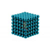 Forceberg Cube - куб из магнитных шариков 5 мм, светящийся в темноте, 216 элементов - Forceberg Cube - куб из магнитных шариков 6 мм, бирюзовый, 216 элементов