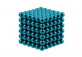 Forceberg Cube - куб из магнитных шариков 6 мм, бирюзовый, 216 элементов