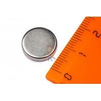 Магнитное крепление с отверстием А42 - Неодимовый магнит диск 13х3 мм