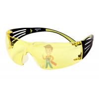 Защитные закрытые очки из поликарбоната с покрытием Scotchgard™ от запотевания и царапин, GG501-EU - Очки открытые защитные SecureFit™ 403, цвет лин - желтый, с покрытием AS/AF против царапин и запотевания